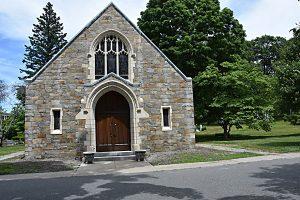 Gilman Chapel - Cedar Grove Cemetery - Exterior Restoration Completed